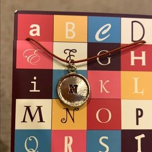 Initial N necklace. Brand new!